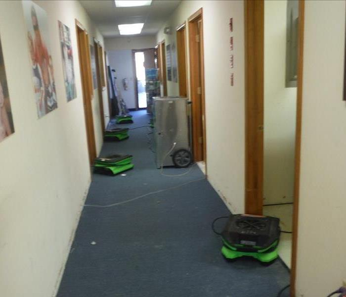 SERVPRO of Point Pleasant Commercial Water Damage Cleanup Before