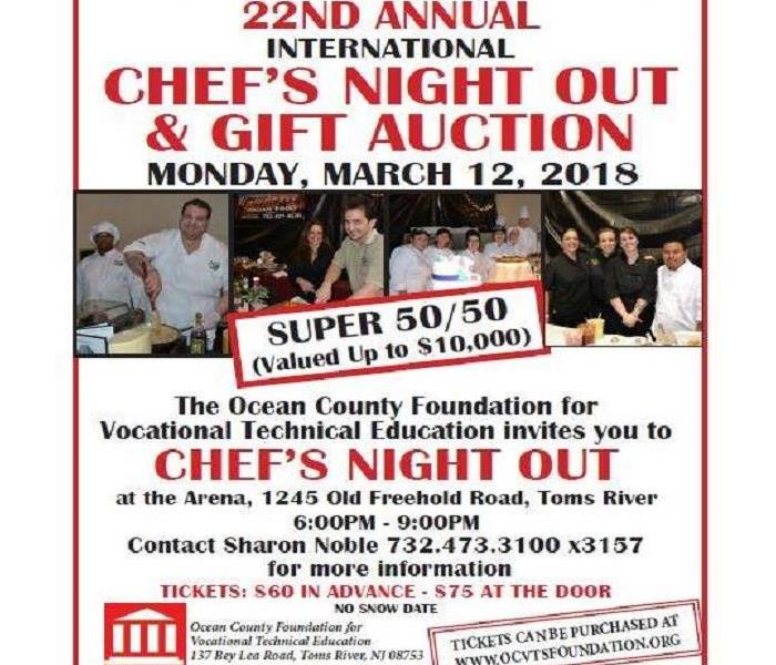 22nd Annual International Chef's Night Out
