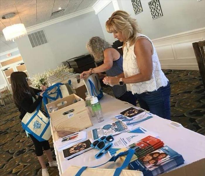 Prepping for OceanCares Foundation ClamBake for a Cause 2018