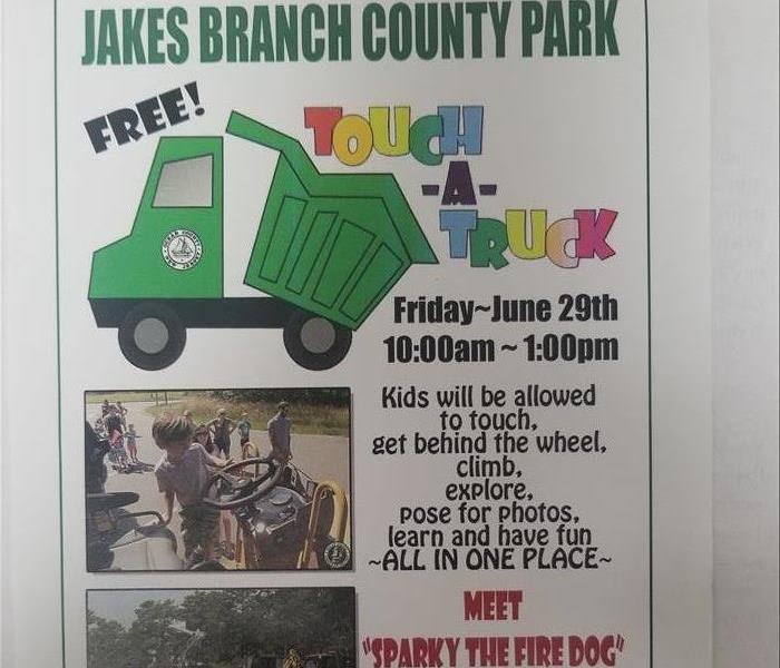 Jakes Branch County Park Touch-A-Truck