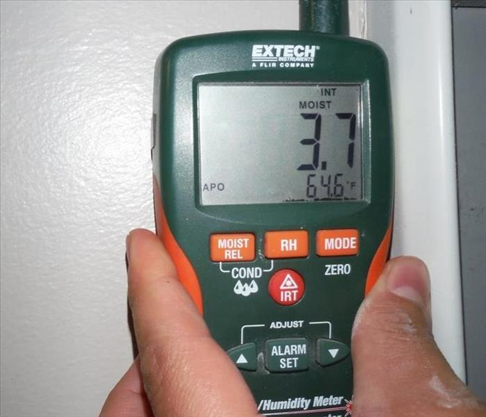 Moisture Monitoring after a Water Leak