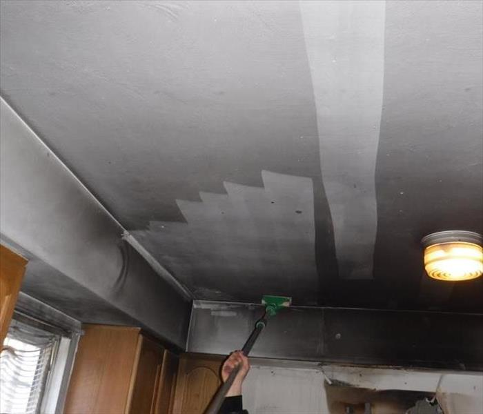 Grease Fire and Soot Damage in Kitchen in Brick, NJ