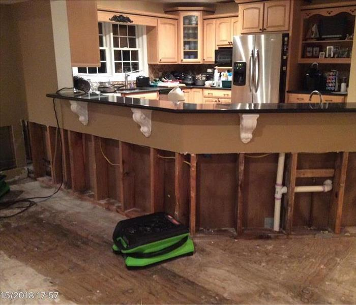 Water Damage 4 Steps SERVPRO of Point Pleasant Does Following a Water Loss